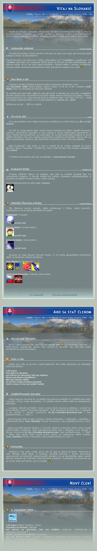 Slovakia CSS Journal by Ezimir