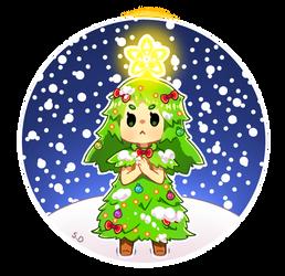 Lil' Christmas Tree by ScarletDestiney