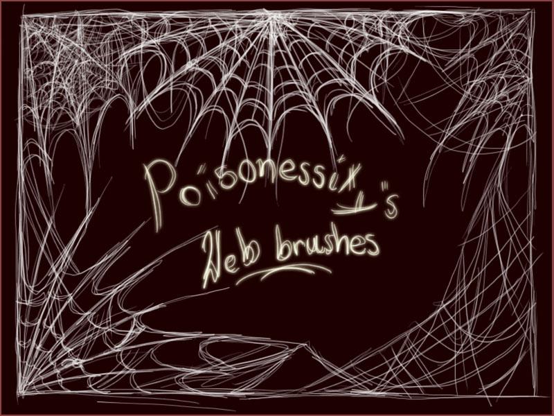 Photoshop Web Brush Pack by Poisonessity