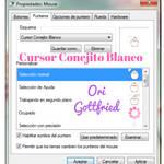 Cursor Conejito Blanco