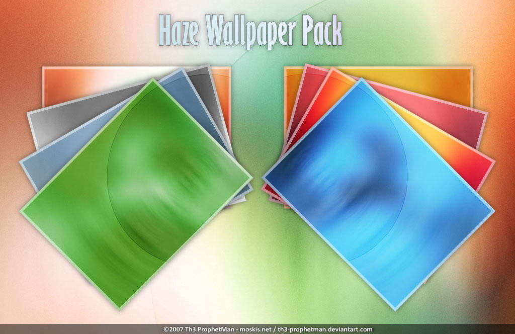 Haze Wallpaper Pack by Th3-ProphetMan