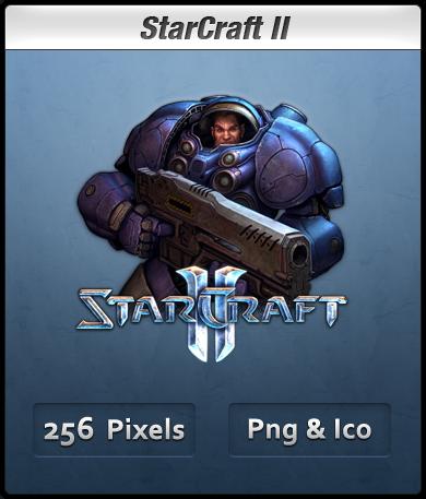 StarCraft II - Terran Icon by Th3-ProphetMan