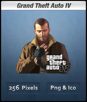 Grand Theft Auto IV Icon by Th3-ProphetMan
