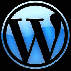 WordPress Glass Logo