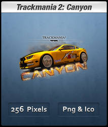 Trackmania 2 Canyon Icon by Th3-ProphetMan
