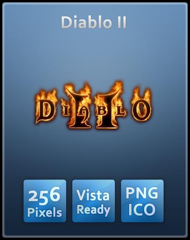 Diablo II Vista Ready Icon by Th3-ProphetMan