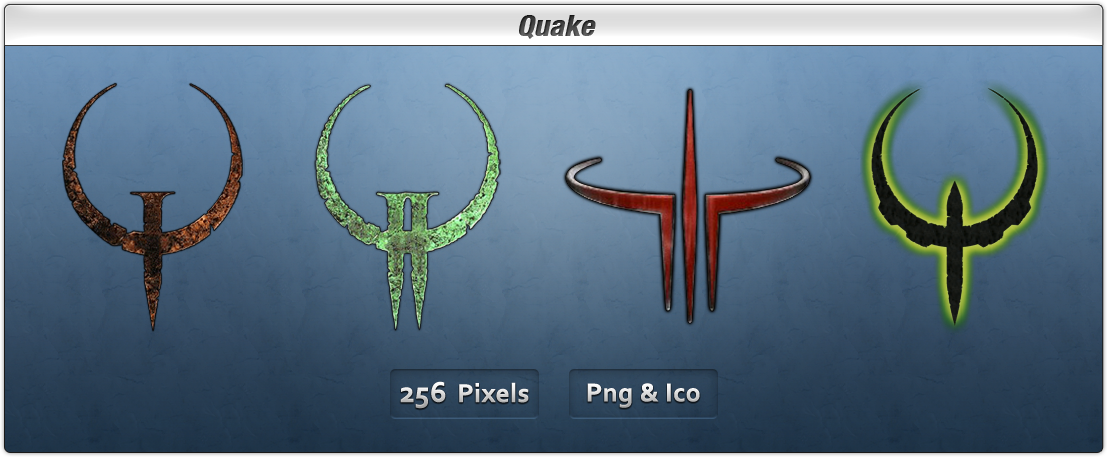 Quake Icon Pack by Th3-ProphetMan
