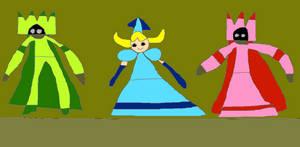 Princess Aqua And Her Family