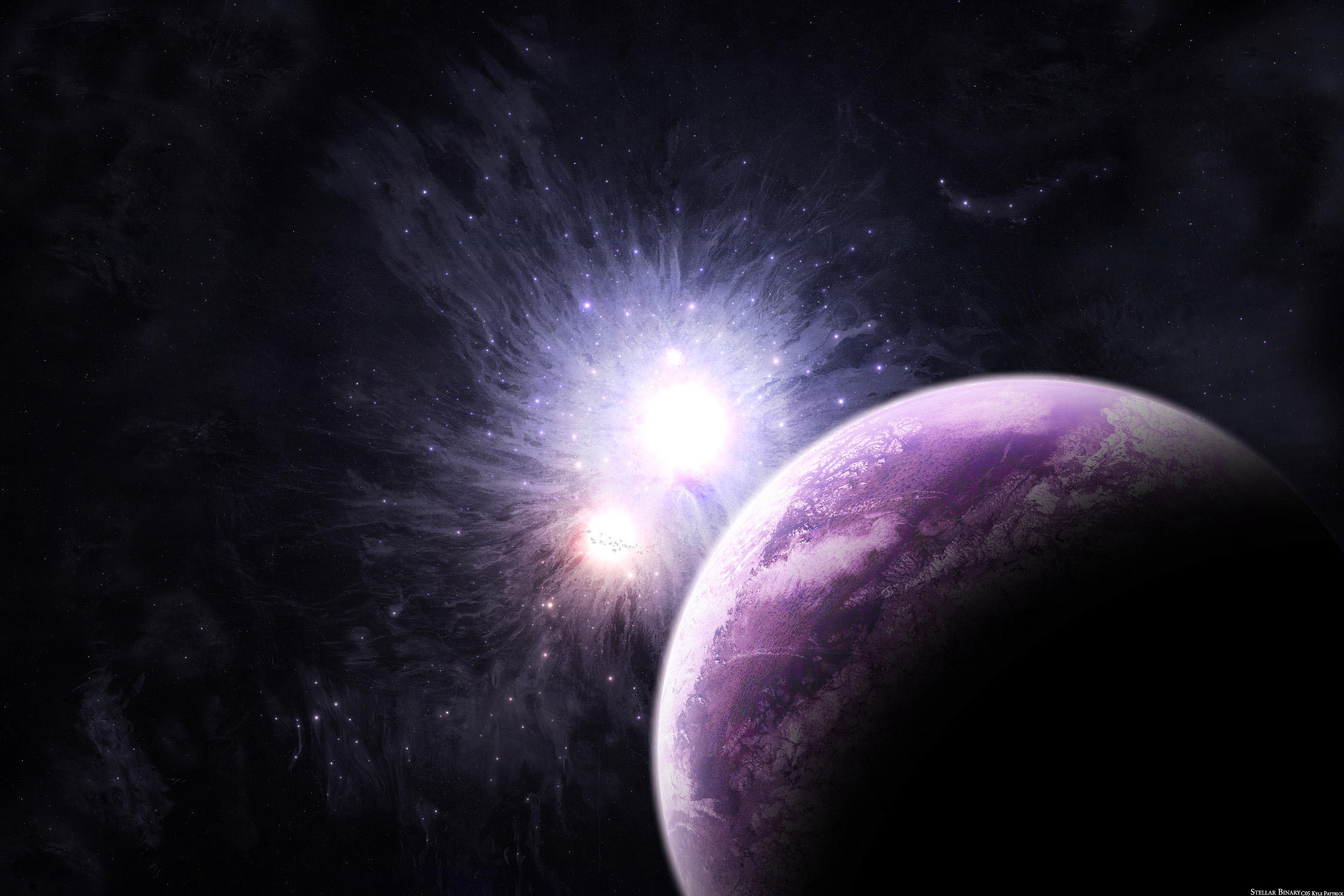Stellar Binary by cosmicbound