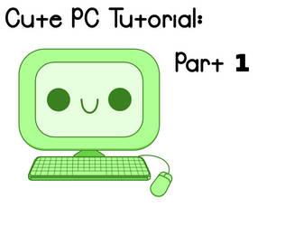 Cute PCs Inkscape Tutorial Preview 1