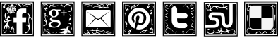 Ornate Social Icons