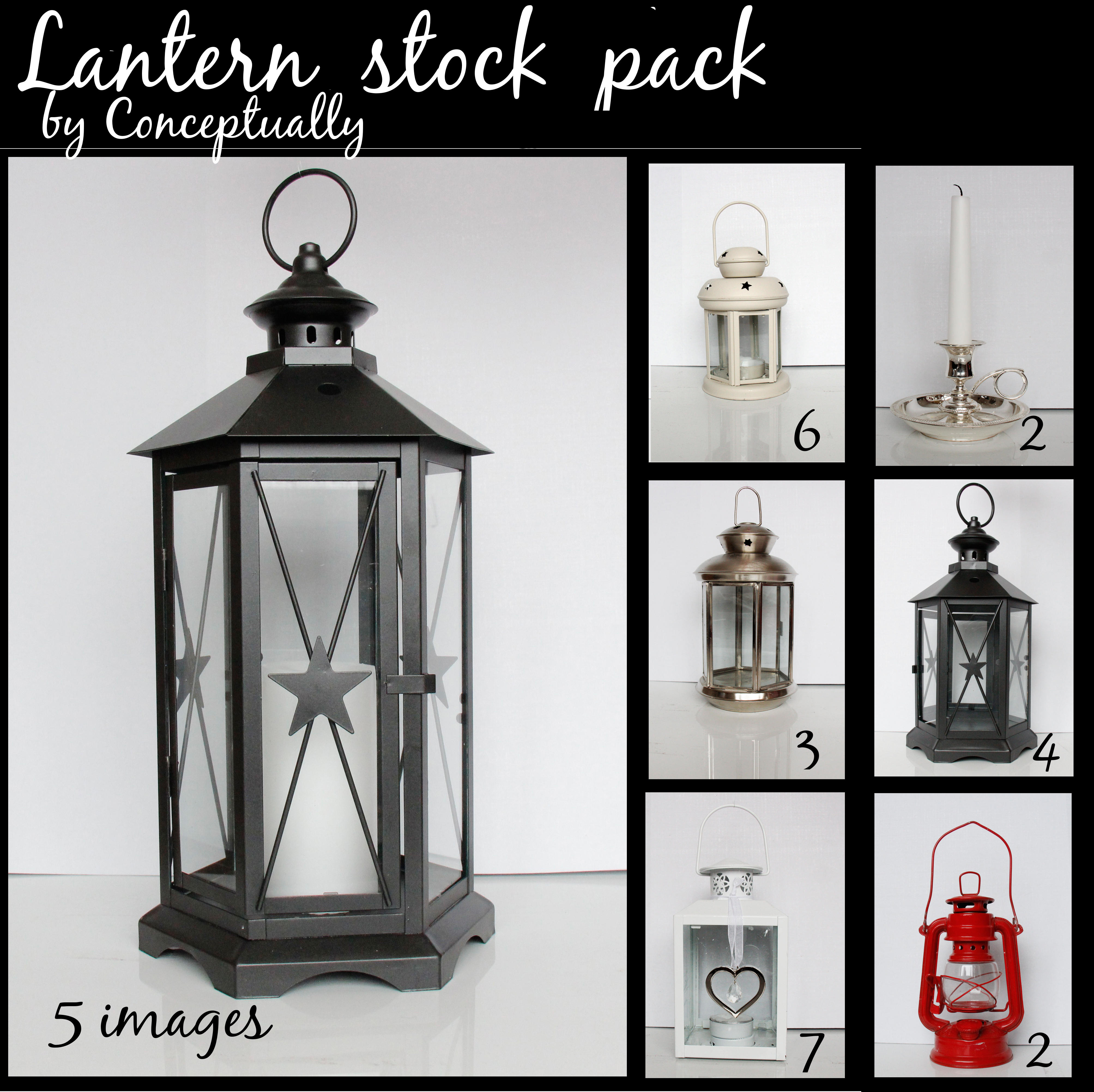 Lantern STOCK pack by conceptually