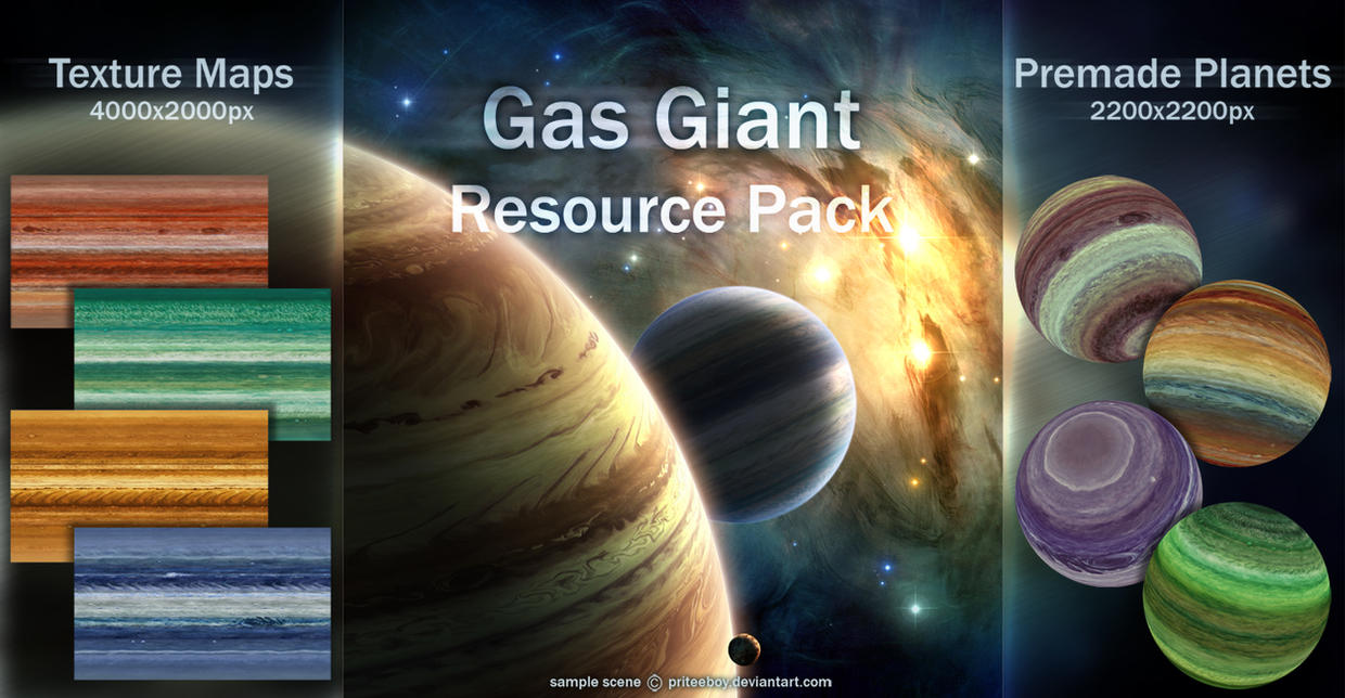 Gas Giant resource pack by Chromattix