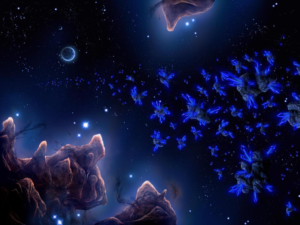 Cosmic crystal by priteeboy