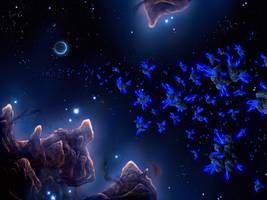 Cosmic crystal by Chromattix