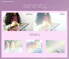 Photoshop Action- Serenity