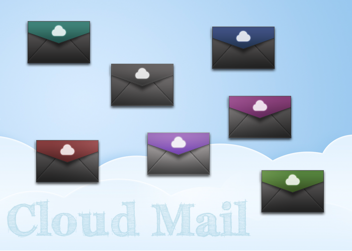 Cloud Mail Icon by luisperu9