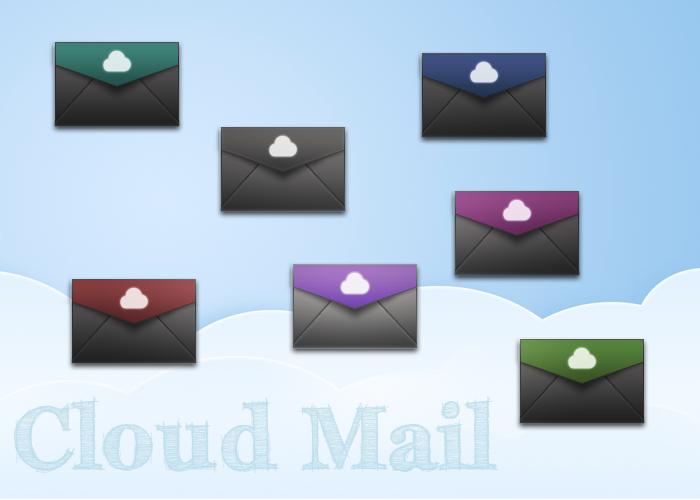 Cloud Mail Icon by luisperu9