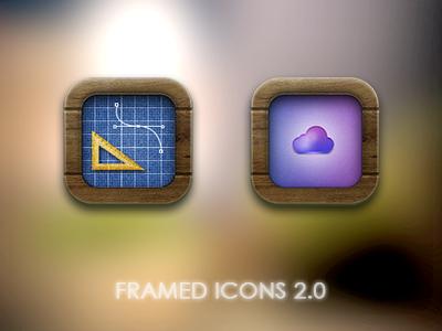 Framed Icons 2.0 by luisperu9