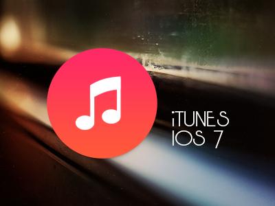 iTunes iOS7 by luisperu9