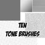 10 tone brushes