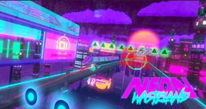 Neon Wasteland 3D Gameplay Video