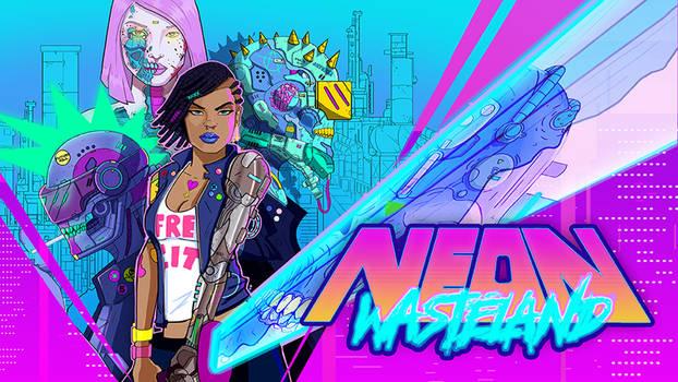 Neon Wasteland Now Live on Kickstarter