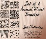 Animal Print Brushes