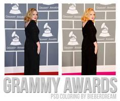 Grammy Awards PSD by BieberDream