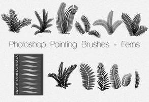 Photoshop Painting Brushes - FERNS