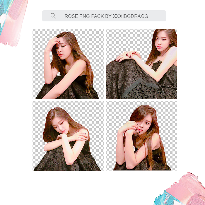 PNG PACK #9 - ROSE [BLACKPINK] by xxxibgdragg on DeviantArt