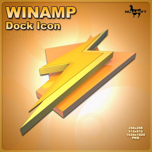 Winamp Dock Icon by AlperEsin