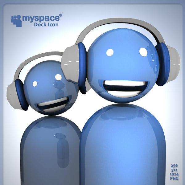 Myspace im Dock Icon by AlperEsin