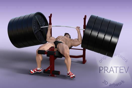 VHAD02 4600-lb Bench Press