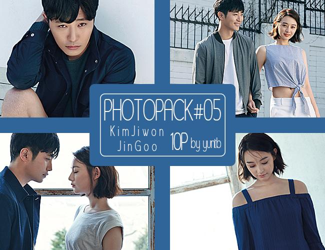 PHOTOPACK #05 Jin Goo_Kim Ji-won-10p by yuntb