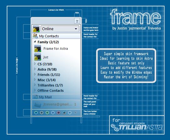 Frame for trillian astra by juzmental on deviantart for Skin it fish skinner