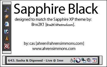 Sapphire Black by Cas by casimmons