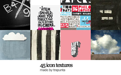 icon textures - set n.39 by Trapunta