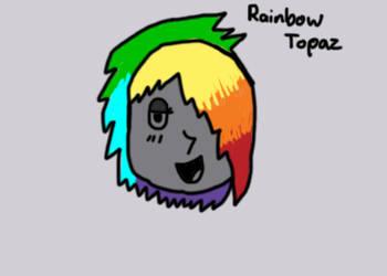 Gemsona: Rainbow Topaz by Raynee0815