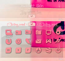Menu Sound Pink - Xwidget by ietf4899Love