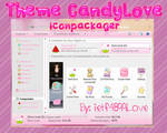 Theme Iconpackager - CandyLove By: ietf4899Love