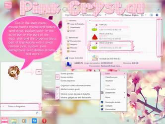 Pink Crystal Theme W7