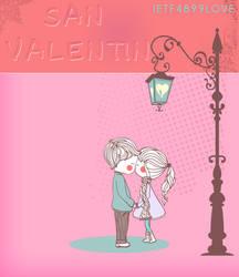 San Valentin Nino y Nina PSD