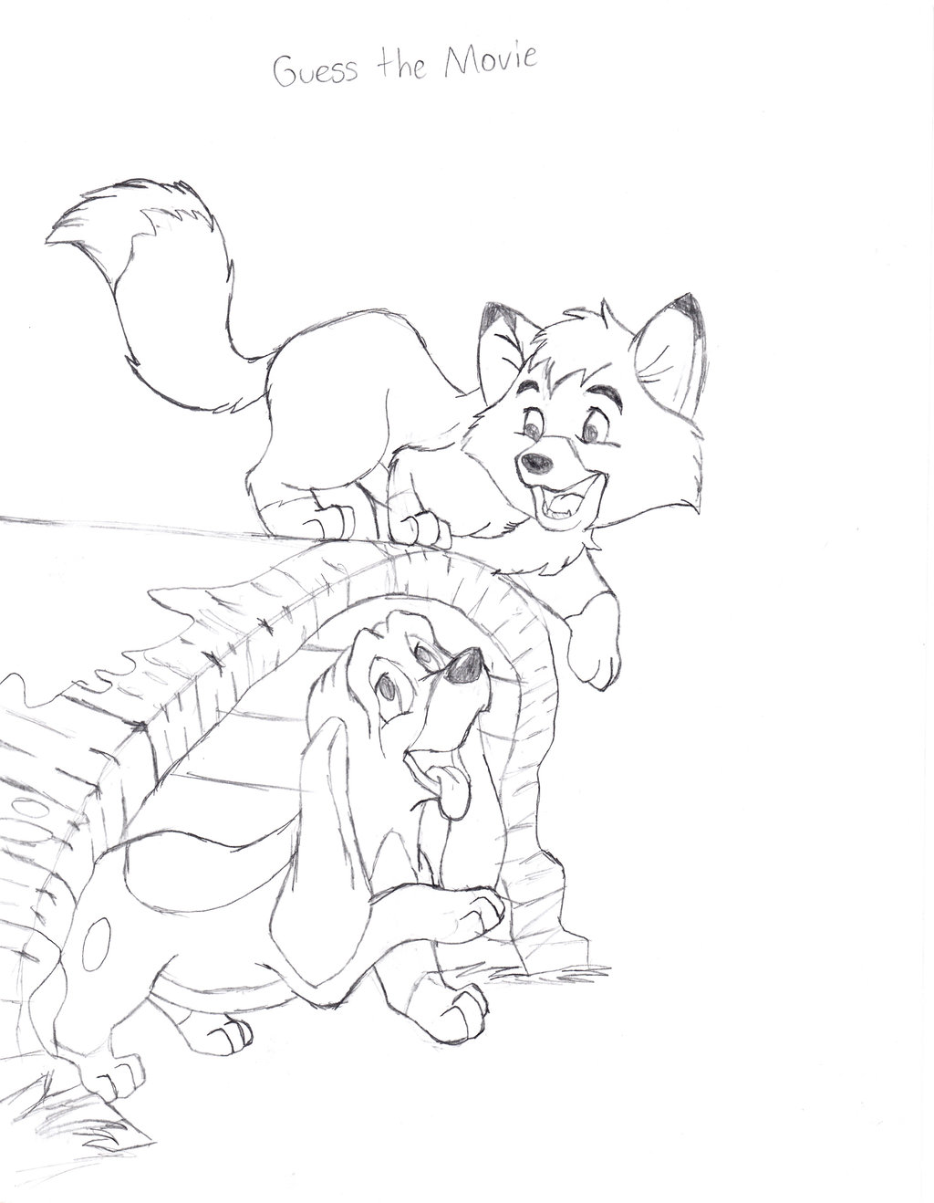 the fox and the hound coloring pages - pin fox and the hound coloring pages on pinterest