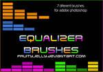 Equalizer photoshop brushes