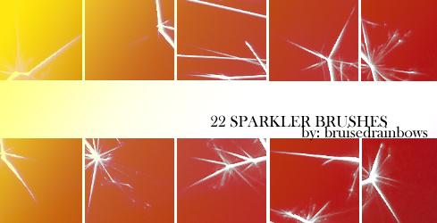 Sparkler Brushes