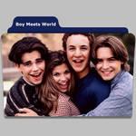 Boy Meets World tv show folder