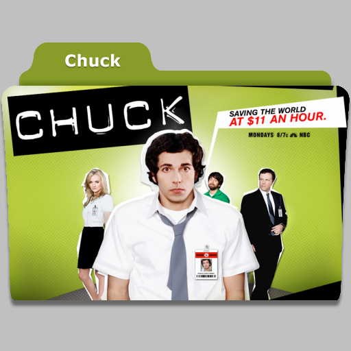 Chuck tv show folder icon by speakingsoul on deviantart for Craft shows on tv