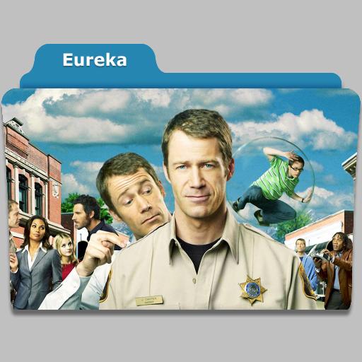 Eureka tv show folder icon by speakingsoul