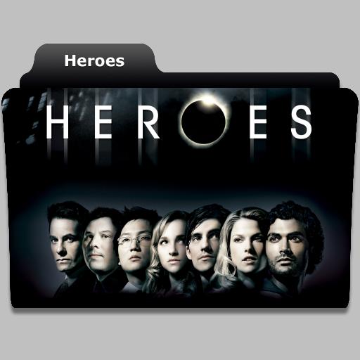 Heroes tv show folder icon by speakingsoul on deviantart